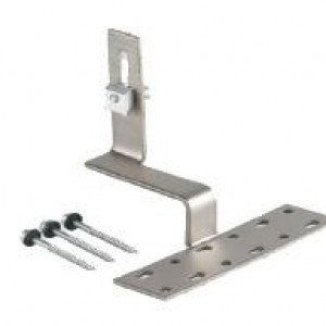 Roof hooks for concrete tiles (panels in landscape)