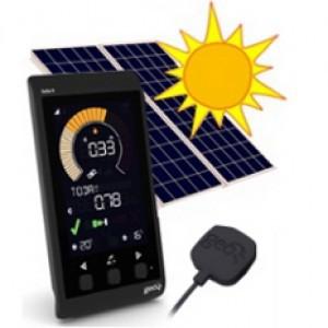 geo solo ii / 2 / two solar panel energy wireless monitor